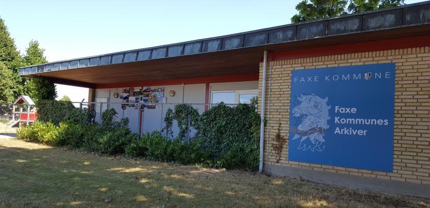 Velkommen hos Faxe Kommunes Arkiver
